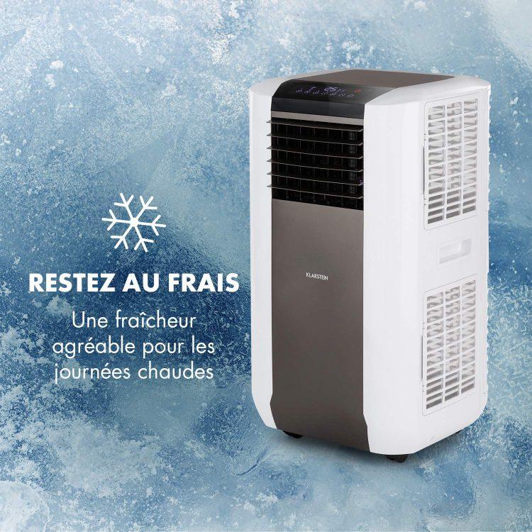 Climatiseur mobile, une fraîcheur agréable